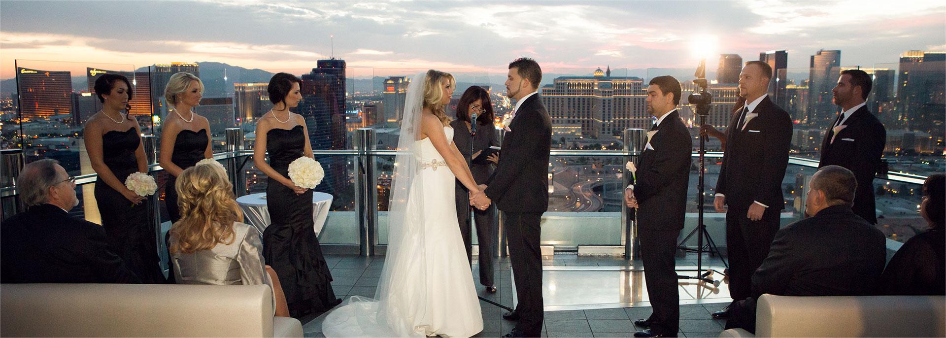 Wedding ceremony with Reverend Venniro